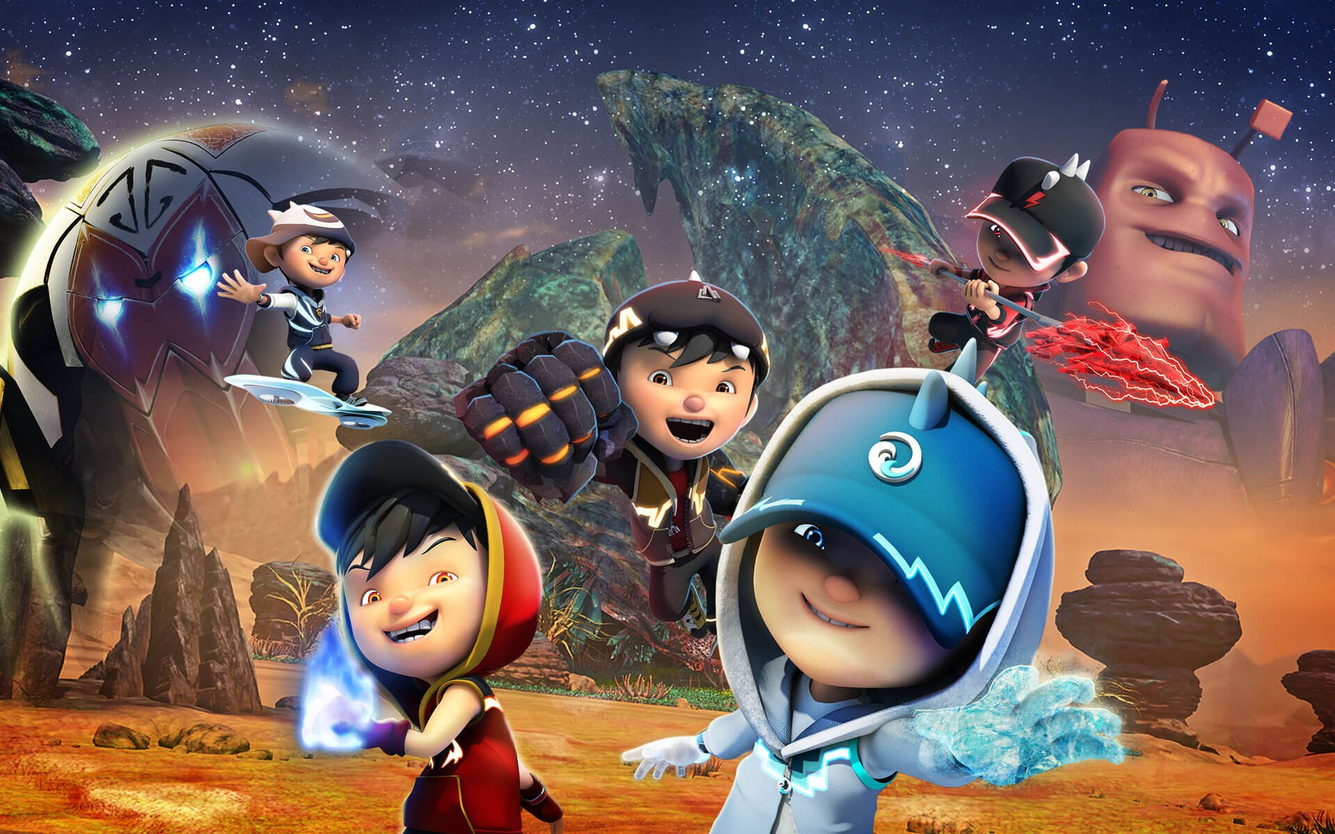 Disney Channel Boboiboy The Movie Yuneoh Events