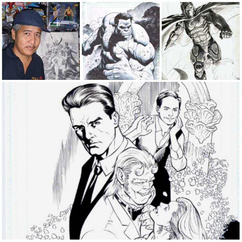 filipino comic book artists collage3