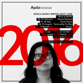 Jessica zafra 39 s writing boot camp yuneoh events for Portents by jessica zafra