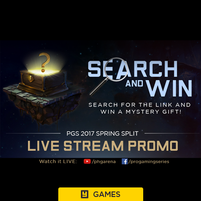 Garena Search and Win Contest – YuneOh Events