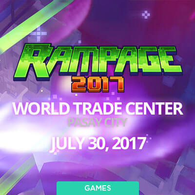 League of Legends Rampage 2017 World Trade Center, Pasay City