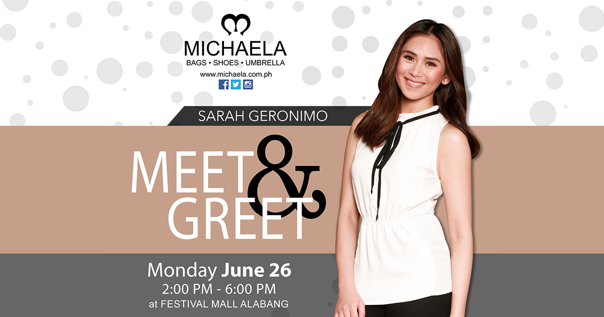 personal information to sarah geronimo Asap is the musical variety show in the philippines shown on abs-cbn and is seen worldwide through the sarah geronimo (2004–present) luis manzano (2003.