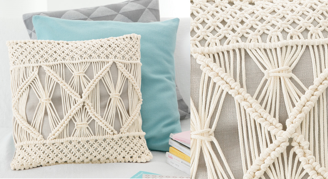 Macram wall hanging - Comment faire du macrame ...