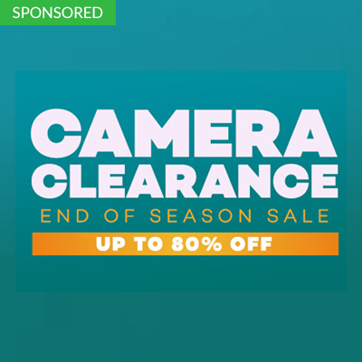 Camera Clearance End of Season Sale Up to 80% Off Online Promotion