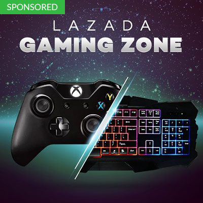 Get Your Gaming Heart Ready for Lazada's Gaming Zone Online Promotion