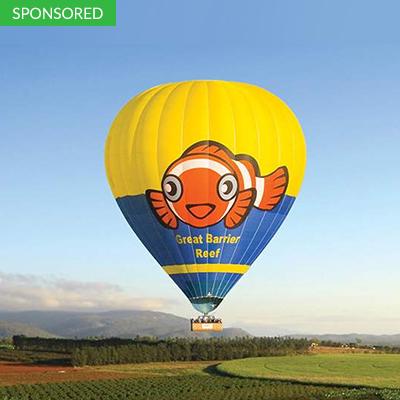 Go Up in the Air at Cairns in this Hotair Balloon Flight Experience Cairns, Australia