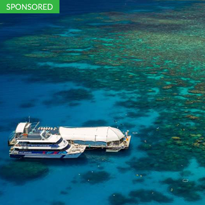 The Great Barrier Reef Cruise Great Barrier Reef<br /> Queensland, Australia<br />