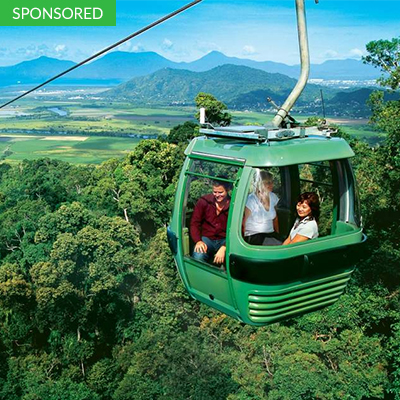 The Rainforest Skyrail Cableway Experience Cairns, Tropical North Queensland, Australia