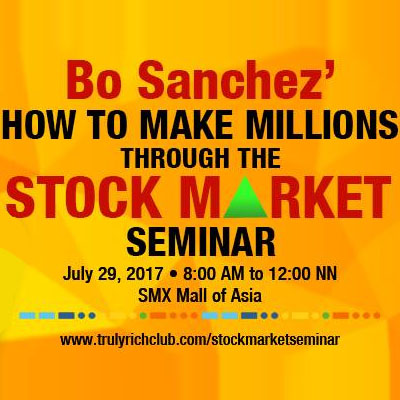 Bo Sanchez' How To Make Millions In The Stock Market PICC Complex, Pasay City