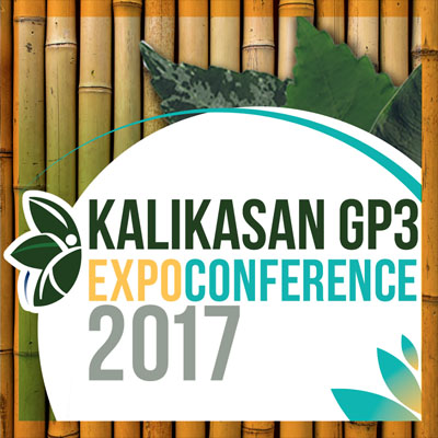 Kalikasan GP3 Expo Conference 2017 SMX Convention Center Mall of Asia Pasay City