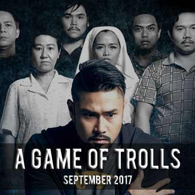 A Game of Trolls PETA Theater, Quezon City