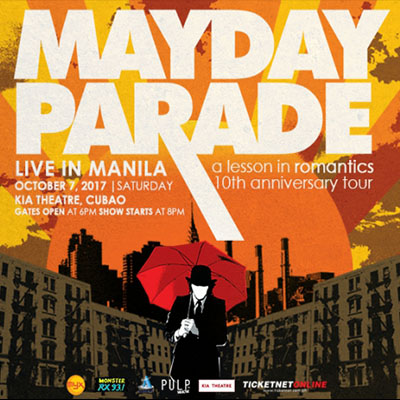 Mayday Parade Live In Manila: A Lesson In Romantics. Kia Theatre, Quezon City