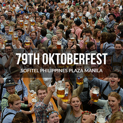 79th Oktoberfest 2017 in Manila Harbor Garden Tent<br />