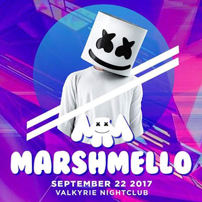 Marshmello Music Concert in Manila 2017 Valkyrie Nightclub, 36th St. cor. 9th Ave., Bonifacio Global City, Taguig City