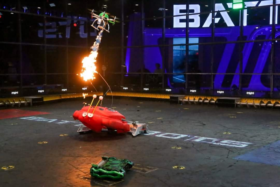Watch Battlebots at AXN on Monday, Tuesday, Wednesday, and Friday.