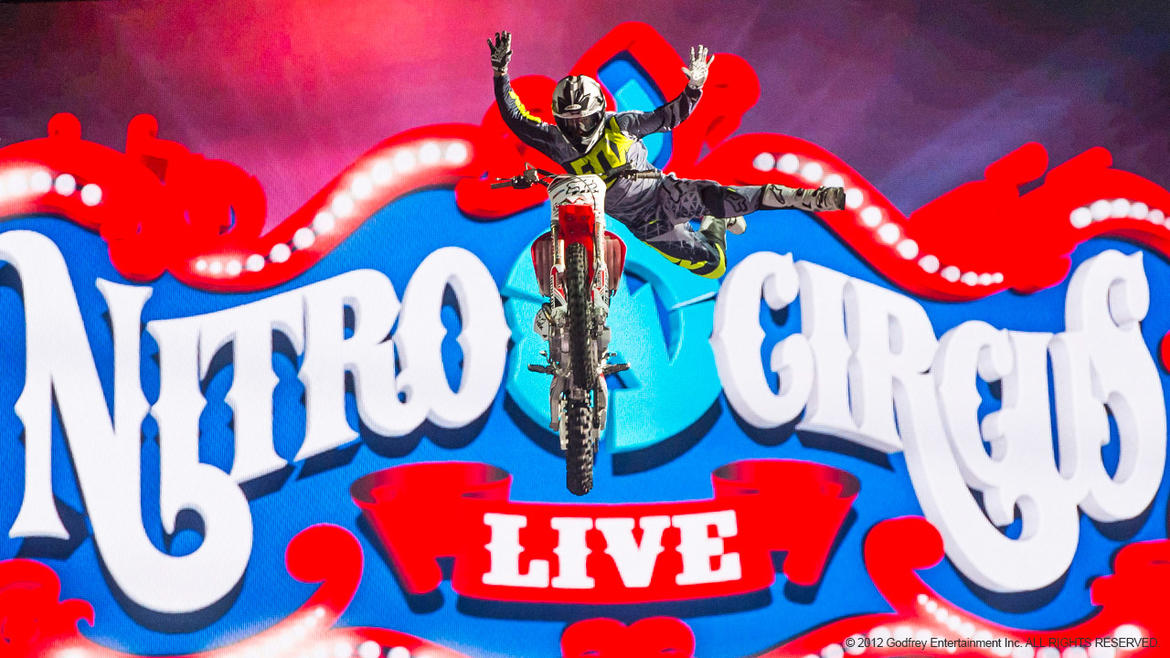 Entertainment at its finest only at Nitro Circus Live.