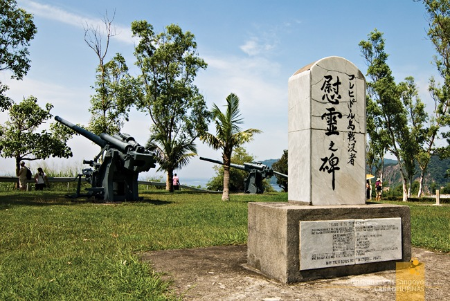 The Japanese Peace Garden in Corregidor. Photo credits to Lakad Pilipinas.