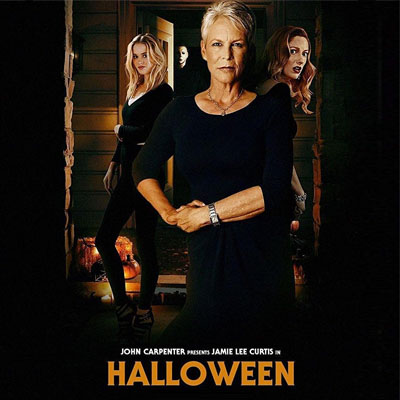 Halloween 2018 Michael Myers Face.Laurie Strode And Michael Myers Come Face To Face Again In Halloween