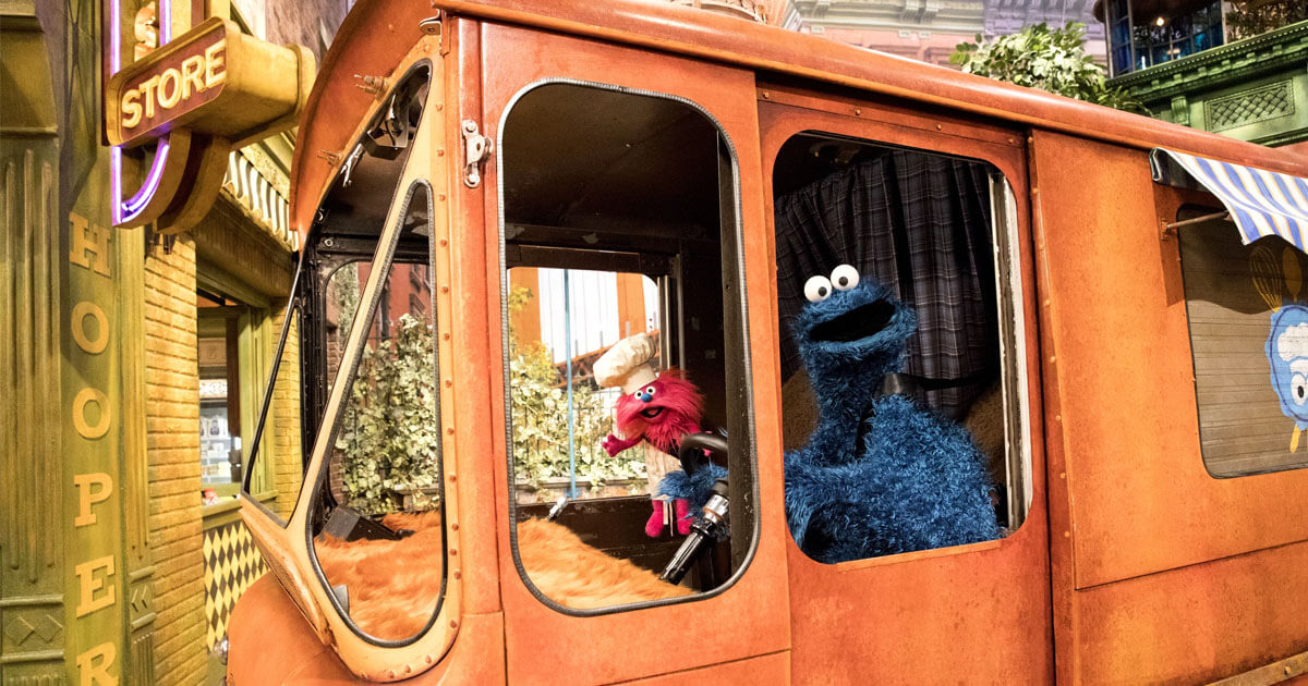 cookie monster food truck
